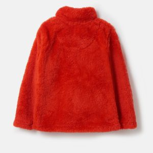 Lighthouse Ted Fleece – Lava Red