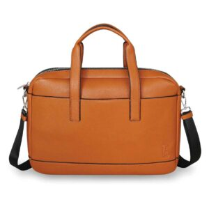 Tipperary Crystal- Saville Row Tan Men's Satchel