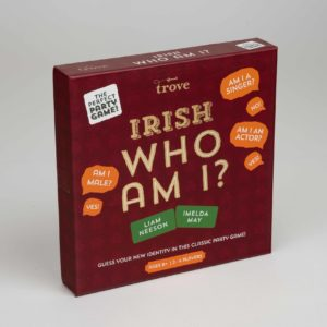Irish Who Am I Game