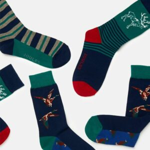 Joules Men's Game Animal Socks- 3 Pack