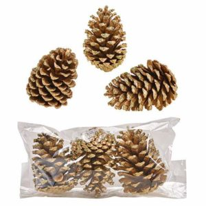 Pinecone Wood – Gold