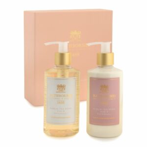 Rathbornes Dublin Tea Rose, Oud and Patchouli Luxury Wash and Lotion – Gift Set
