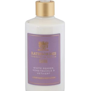 Rathbornes White Pepper, Honeysuckle and Vertivert – Hand and Body Lotion