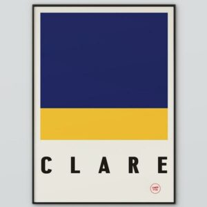Clare Flag Poster
