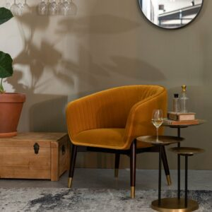 Dolly Lounge Chair – Ochre