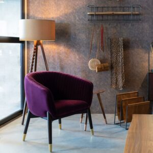 Dolly Lounge Chair – Purple