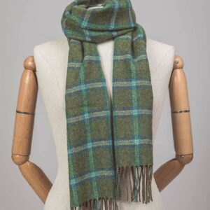 Forest Check Scarf