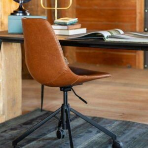 Franky Office Chair – Brown
