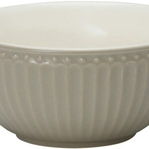 GreenGate Cereal Bowl Alice – Warm Grey