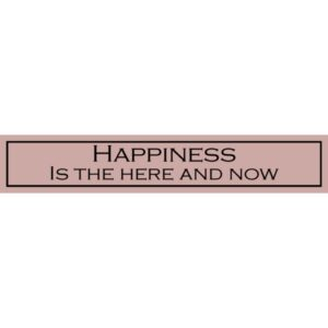 Happiness Is The Here And Now – Wit With Wisdom