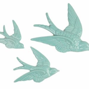 Swallow Wall Decorations Duck Egg – Set of 3