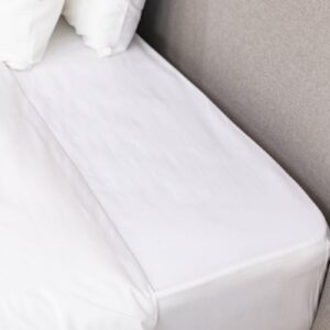 White 200 TC Percale Fitted Sheet